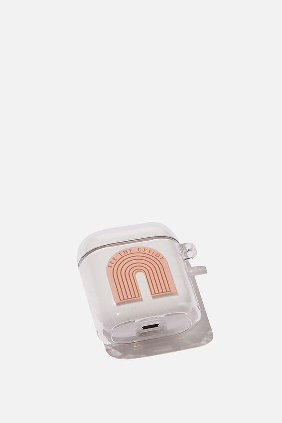 Premium Ear Bud Sleeve, SEE THE UPSIDE