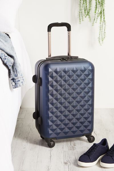 Carry On Suitcase, BLUE PRISM