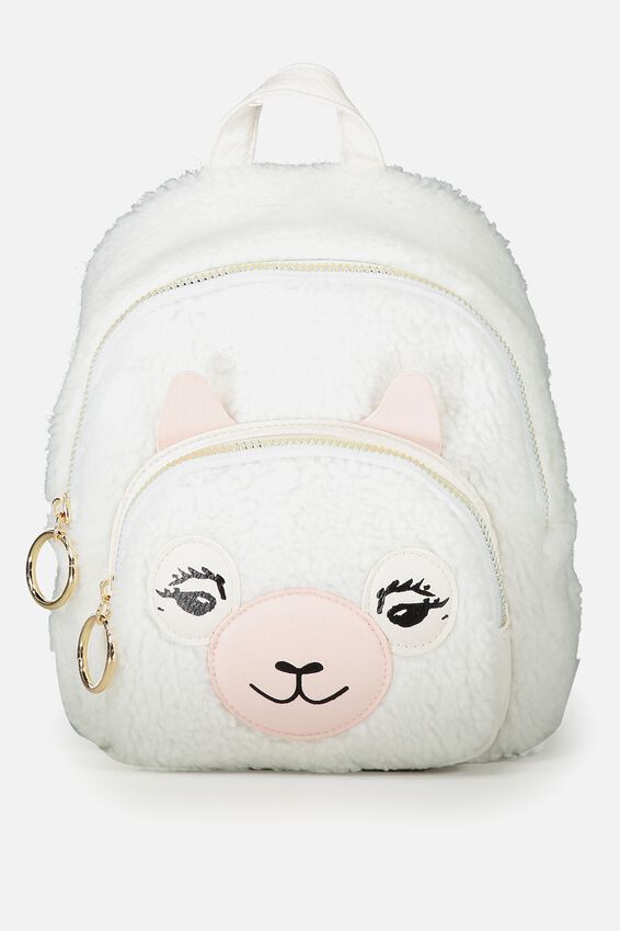 Mini Madrid Backpack, NOVELTY LLAMA