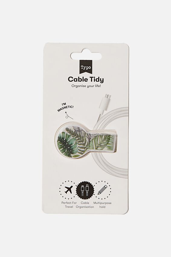 Cable Tidy, FERN FOLIAGE