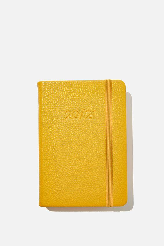 2020 21 A6 Daily Buffalo Diary, MUSTARD