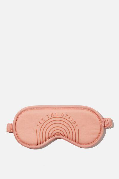 Premium Sleep Eye Mask, SEE THE UPSIDE