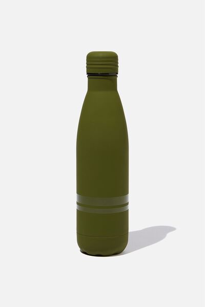 Metal Drink Bottle, KHAKI