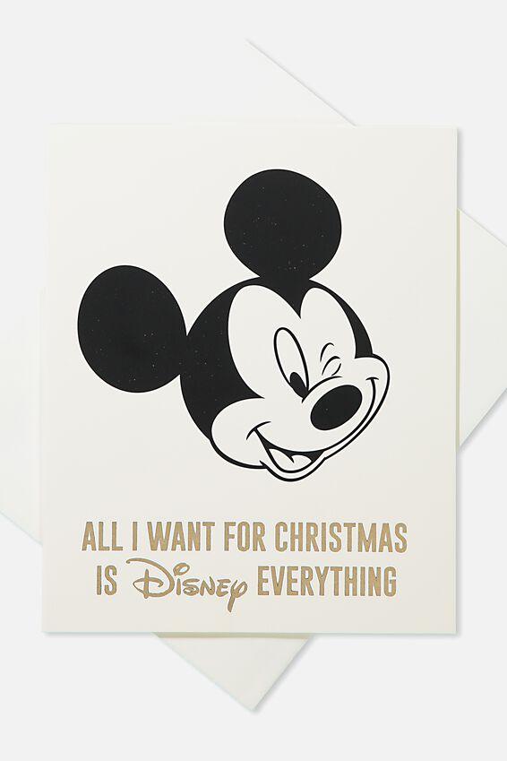2018 Christmas Card, LCN DISNEY EVERYTHING