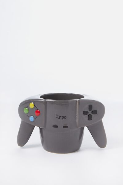 Novelty Shaped Mug, DOUBLE HANDLE REMOTE