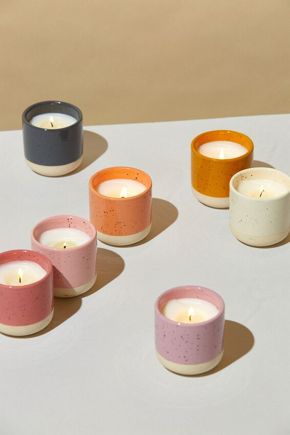 Double Dip Candle, DUSTY ROSE