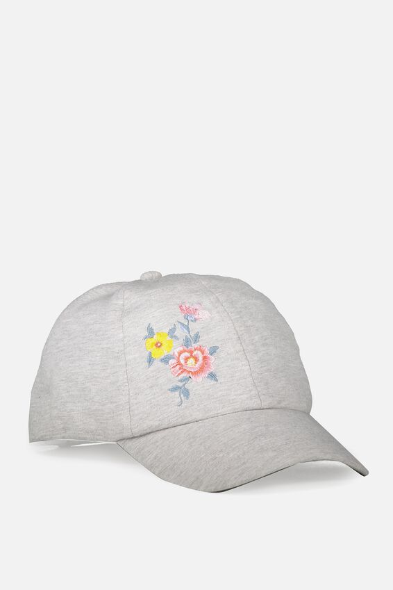 Novelty Caps, EMBROIDED FLORAL