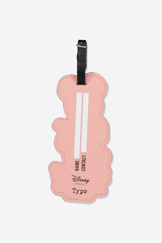 Disney Shape Shifter Luggage Tag, LCN DIS BLUSH MINNIE