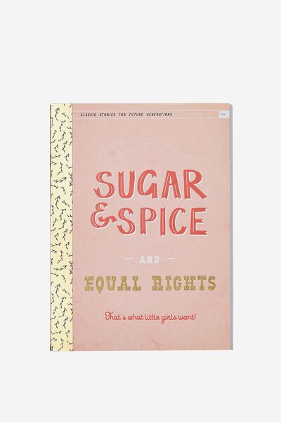 Medium A5 Graduate Journal, SUGAR SPICE EQUAL RIGHTS