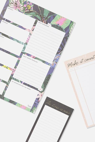 Notepad 3Pk, RESORT FLORAL