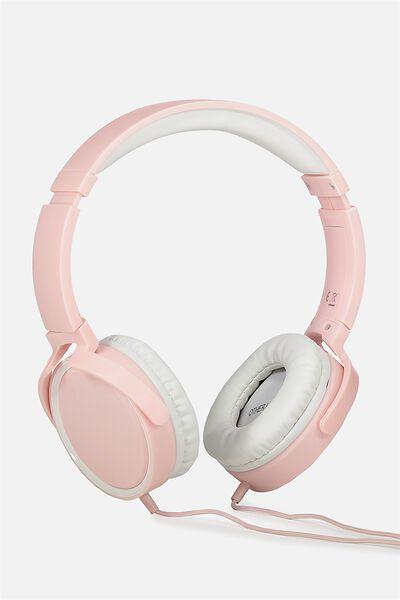 Reverb Headphones, BLUSH