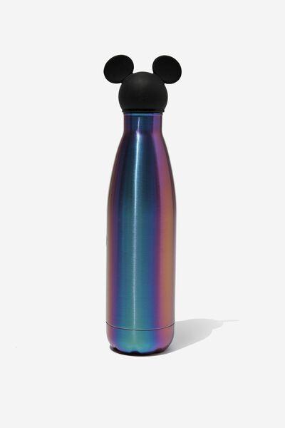 Premium Metal Drink Bottle 500Ml, LCN DIS MICKEY OIL SLICK