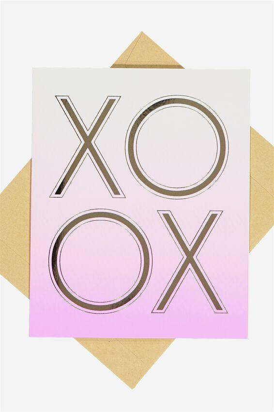 Nice Birthday Card, XO