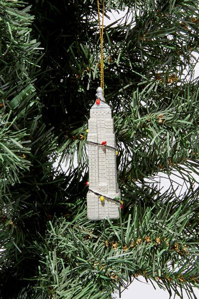 Christmas Ornament, EMPIRE STATE BUILDING