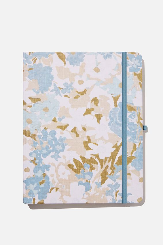2021 22 Mid Year Planner, BLUE DAPHNE FLORAL