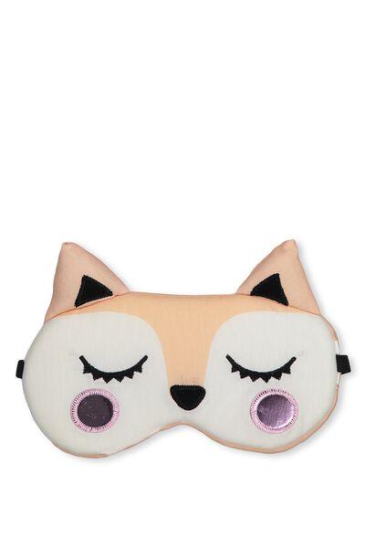 Oversized Eye Mask, FOX