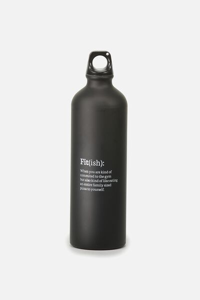 Single Wall Metal Drink Bottle, FITISH