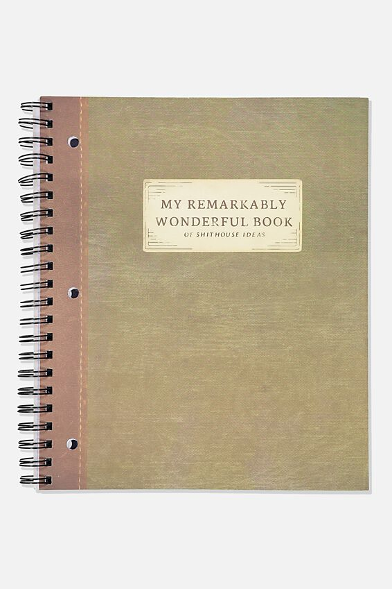 College Ruled Campus Notebook, MY REMARKABLE BOOK