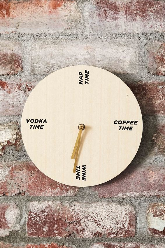 Wall Clock, TIME