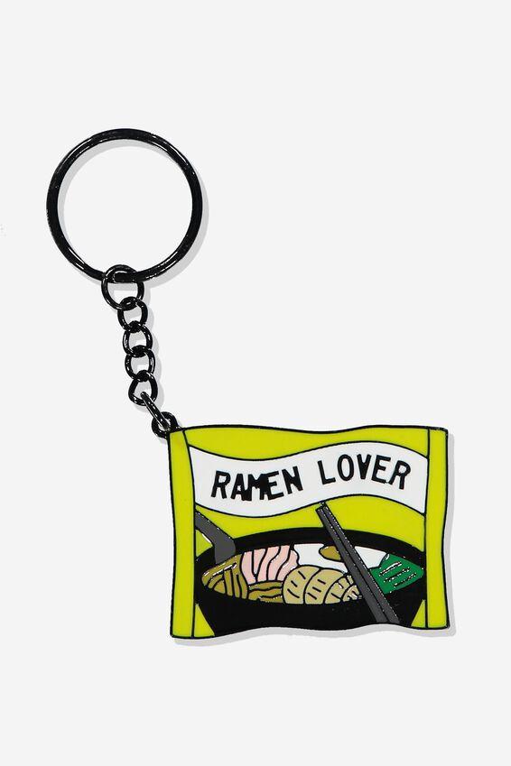 Enamel Keyring, RAMEN LOVER