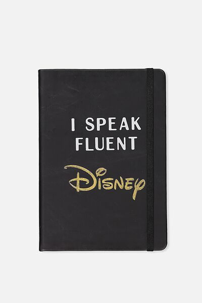 A5 Licensed Buffalo Journal, LCN SPEAK FLUENT DISNEY