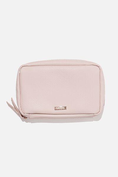 Tech Pouch, BLUSH