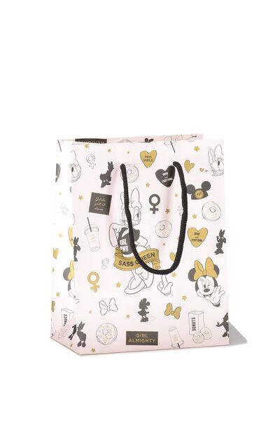 Small Stuff It Gift Bag, LCN MINNIE & DAISY ICON