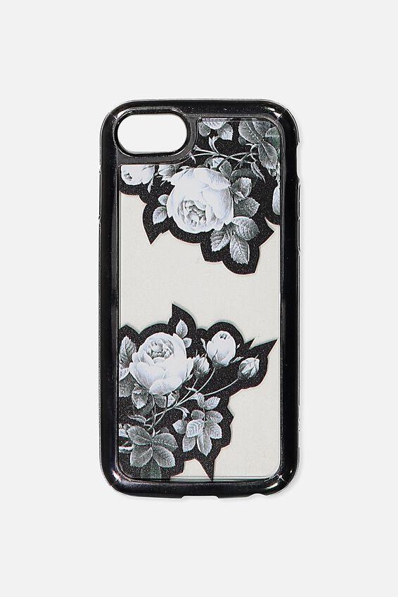 Superior Phone Case Universal 6,7,8, FLORAL NOIR