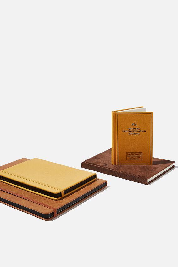 Ultimate Notebook Set, TAN MUSTARD