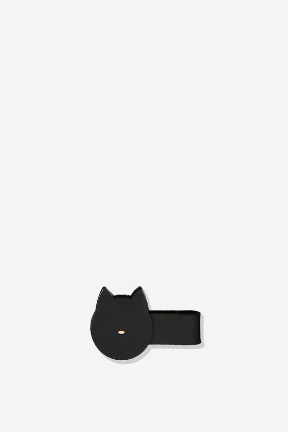 Novelty Cable Tidy, BLACK CAT