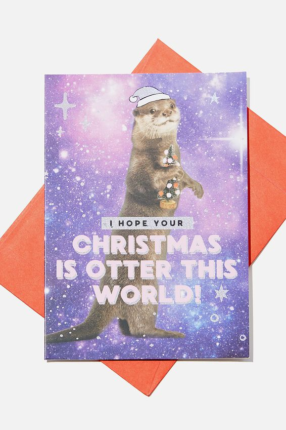 Christmas Card, OTTER THIS WORLD