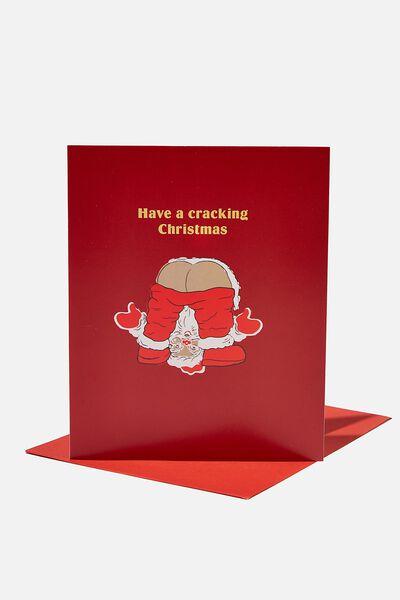 Christmas Card 2021, CRACKING CHRISTMAS SANTA