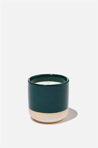 Double Dip Candle, DEEP GREEN