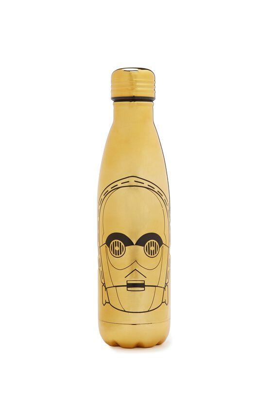 Metal Drink Bottle, LCN C3PO