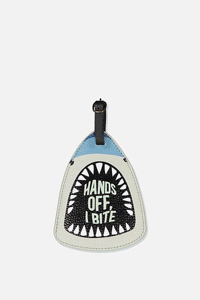 Shape Shifter Luggage Tag, NOVELTY SHARK