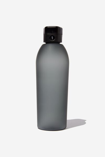 The Counter Drink Bottle, BLACK RUBBER COAT