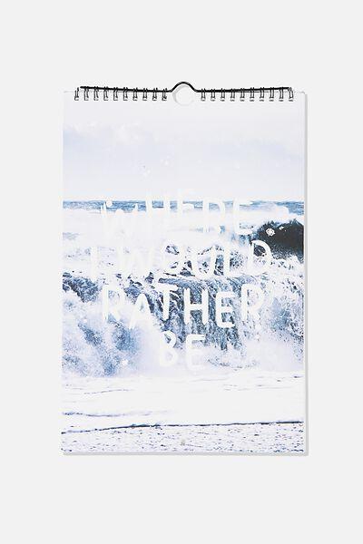2020 Get A Date Calendar, WATER