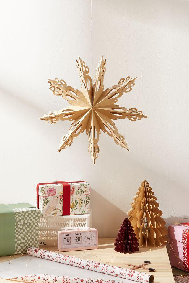 Paper Snowflake Decoration, KRAFT