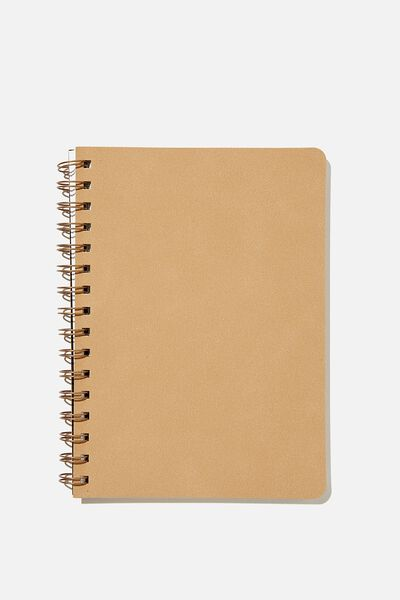 A5 Dot Daily Scribe Notebook, DRIFTWOOD