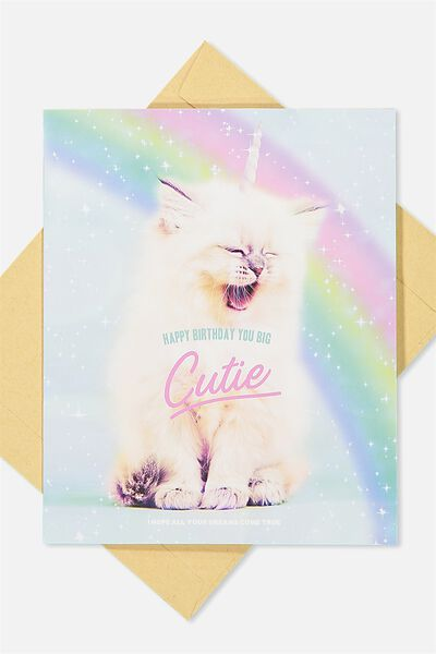 Nice Birthday Card, UNICAT
