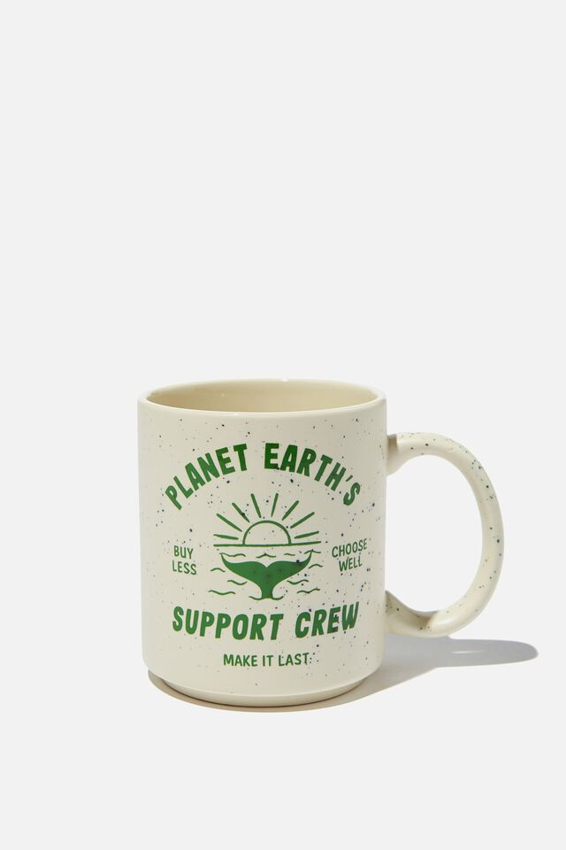 Daily Mug, PLANET EARTH SUPPORT CREW
