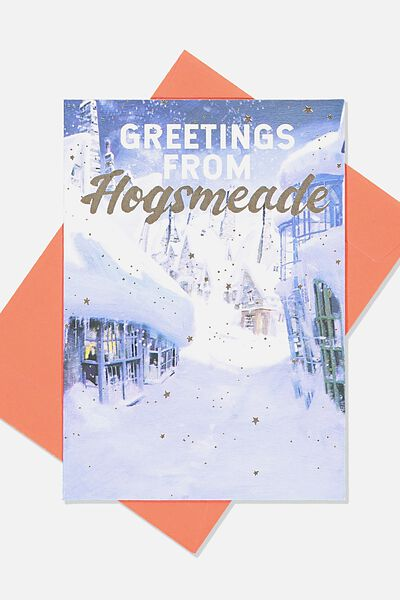 Christmas Card 2019, LCN WB HOGSMEADE HP