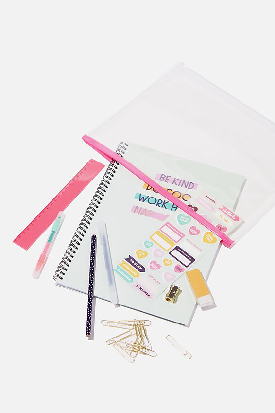 A4 Stationery Kit, BE KIND DO GOOD