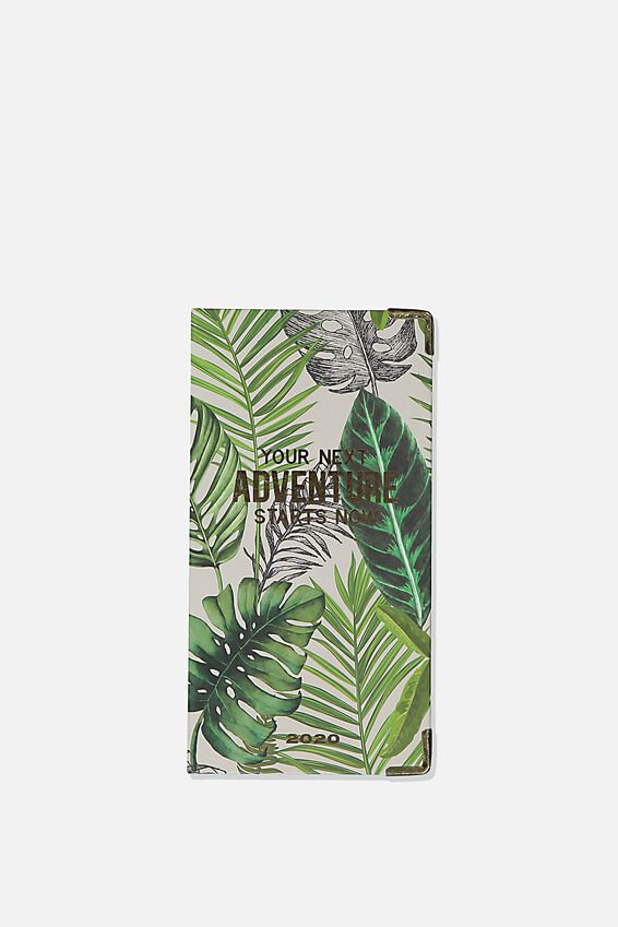 2020 Slim Jim Diary, FERN FOLIAGE