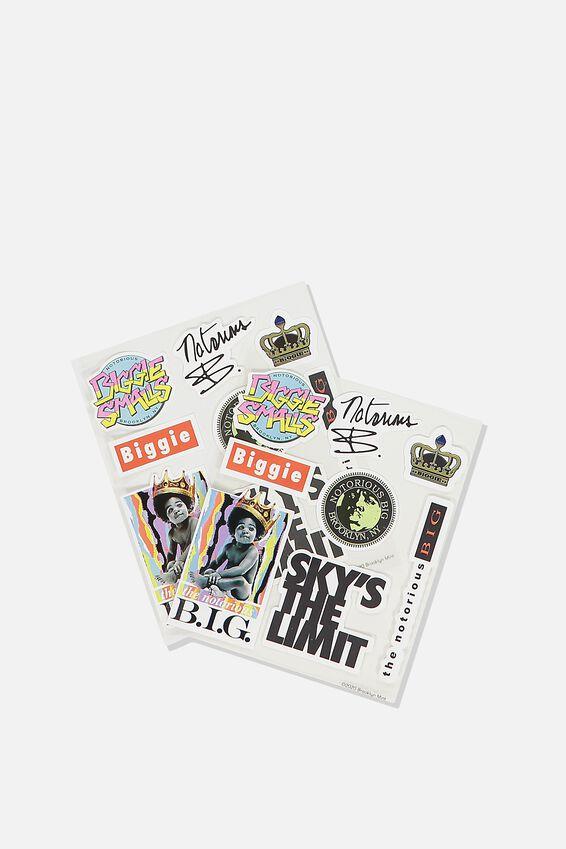 Biggie Sticker Pack, LCN MT BIG BIGGIE SMALLS