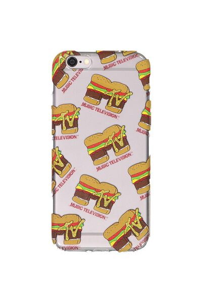 Transparent Phone Cover 6, LCN MTV BURGER