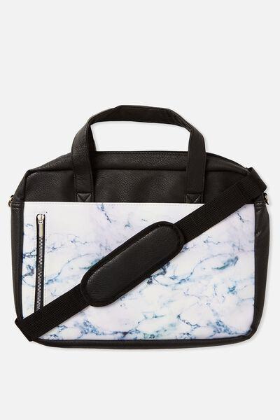 Take Charge Laptop Bag 15in, LUSH MARBLE