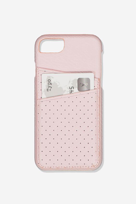 The Phone Cardholder 6,7,8, BLUSH PERF