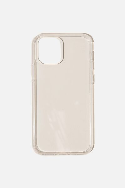 Snap On Protective Phone Case Iphone 12, 12 Pro, CLEAR GLASS