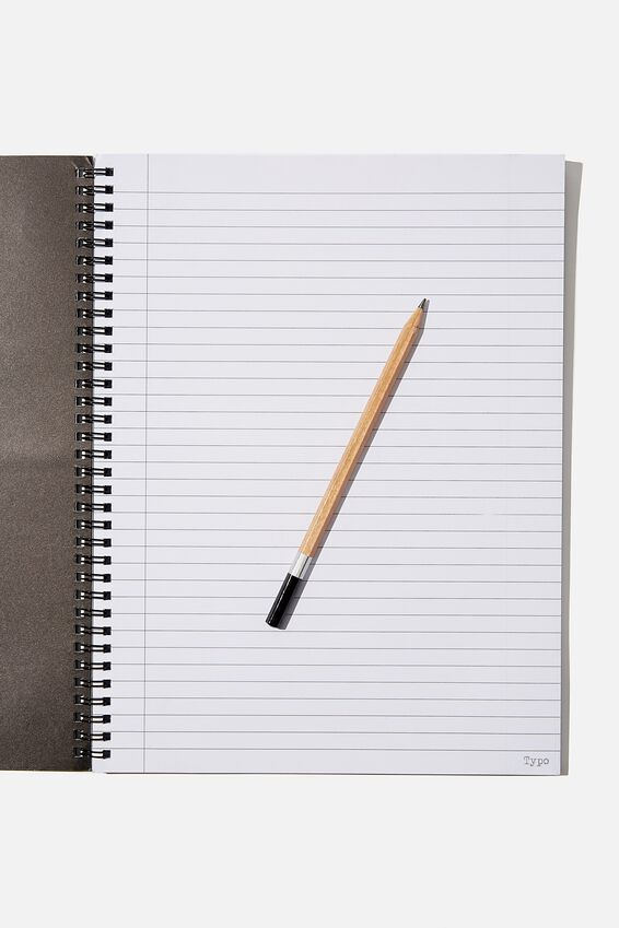 A4 Spinout Notebook - 120 Pages, LCN DIS TLM SILHOUETTE